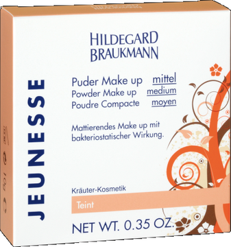 Puder Make up mittel